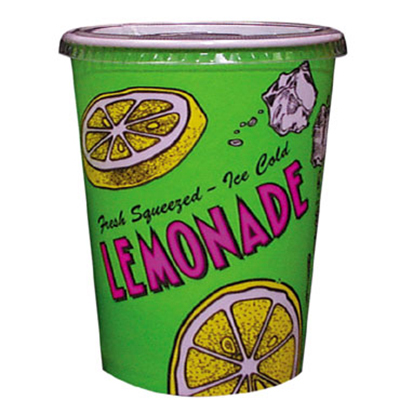 Gold Medal 5305 32-oz Lemonade Special Print Disposab