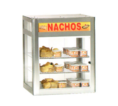Gold Medal 5510 19.5-in Countertop Heated Nacho Wa