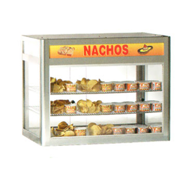 Gold Medal 5512 29.5-in Countertop Heated Nacho Warmer