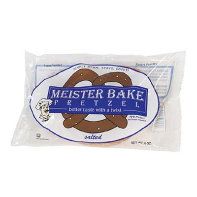 Gold Medal 5627 Salted Meister Bake Soft Pretzels, 40/Case