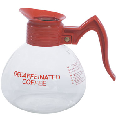 Gold Medal 7007 Glass Decaf Coffee Decan