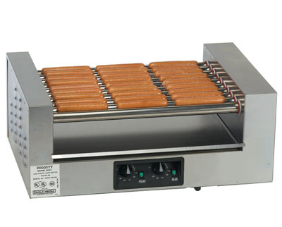 Gold Medal 8023 36 Hot Dog Roller Grill - Flat Top, 220v