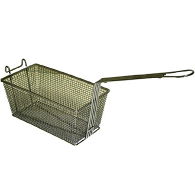 Gold Medal 8072 Large Single Fry Basket for Universal Fryer