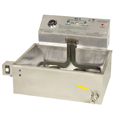 Gold Medal 8078E Countertop Electric Funnel Fryer - (1) 47-lb Vat, 230v/1ph
