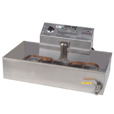 Gold Medal 8088E Countertop Electric Fryer - (1) 47-lb Vat, 230v/1ph