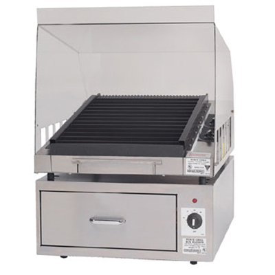Gold Medal 8170 Grilla Heated Bun Cabinet w/ 40-Bun Capacity, Stainless