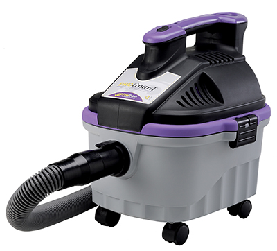 ProTeam 107128 Portable Wet Dry Vac w/ Hose, Wand, Tools, Dust Brush & Nozzles
