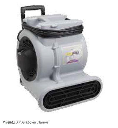 ProTeam 107133 ProBlitz XP Air Mover w/ 3-S