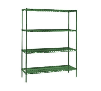 Eagle Group 1830VG Wire Shelving - Green Epoxy Finish