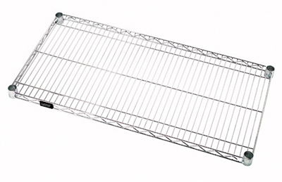 "Eagle Group 2430C Wire Shelving - QuadTruss Design, 24x30"", Chrome-Plated"