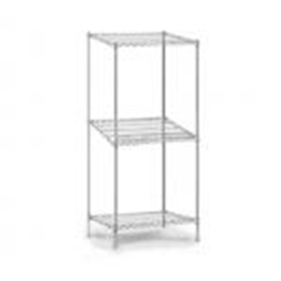 "Eagle Group 2B2148C Wire Shelves - QuadTruss Design, 21x48x54"", Chrome-Plated"