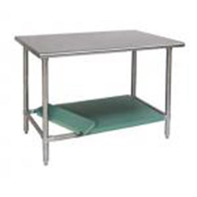 "Eagle Group 605373X Dishtable Undershelf, 48x24"", Galvanized"