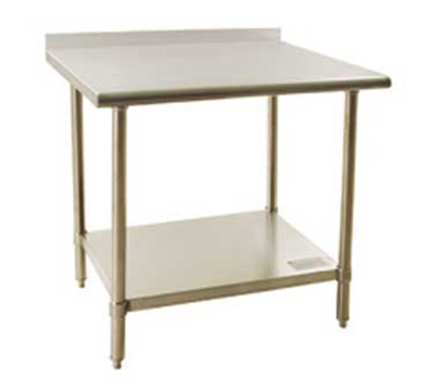 """Eagle Group BPT3036FLX 36"""" Work Table - Front Rolled-R"""
