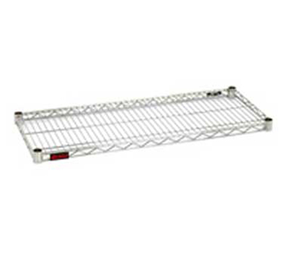 "Eagle Group 2448S Wire Shelving - QuadTruss Design, 24x48"", Stainless"
