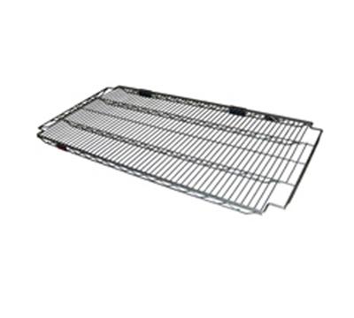 "Eagle Group A2148BL Adjustable Add On Wire Shelf - 300-lb Capacity & 21x48"", Black"