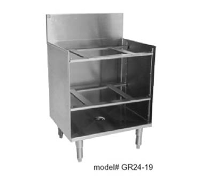 Eagle Group WBGR24-24 Underbar Class Rack Storage Unit - Drainboard Top, 24x24