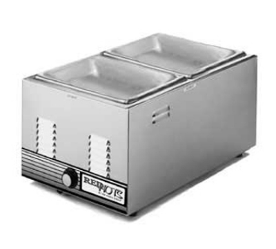 "Eagle Group 1220FWE-120-X Countertop Warmer - 12x20"" Pan Opening, Wet & Dry, 750 W, 120v"