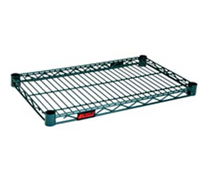 "Eagle Group 2160VG Wire Shelving - QuadTruss Design, 21x60"", Epoxy, Green"