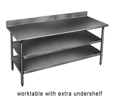 Eagle Group 3060GADJUS-X Galvanized Undershelf For