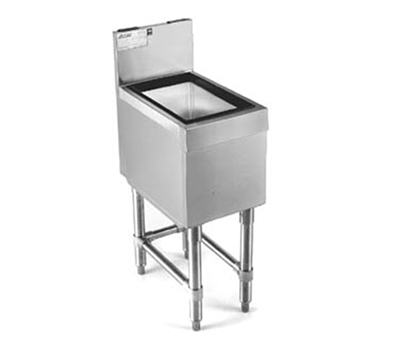 "Eagle Group B24IC-24 Underbar Ice Chest - 10.5"" Deep Bin & 85-lb Capacity, 24x24"