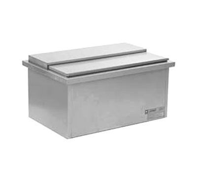 "Eagle Group DIC2014 18"" Drop-In Ice Chest - 121-lb Capacity, Stainless"