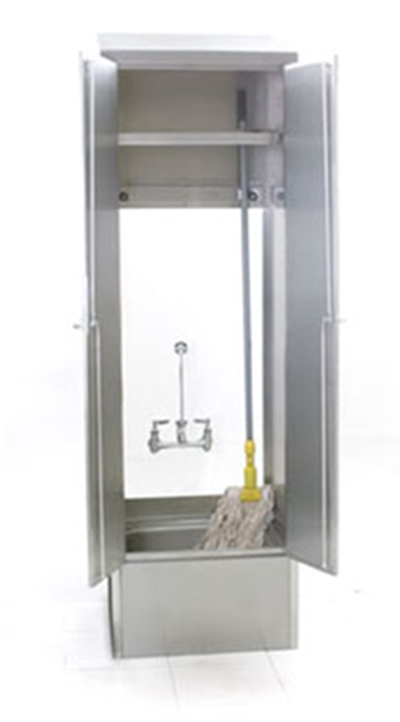 Mop Sink Cabinet : ... Sink, Faucet & Accessories > Mop Sink > Mop Sink Cabinet - Hinged