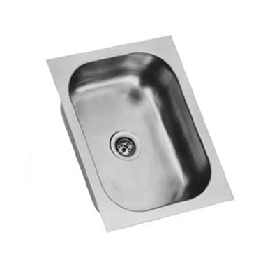 Eagle Group FDI-10-14-5-1 Drop-In Sink Bowl - 1-Compartment, 20-ga Stainless, 10x14x5