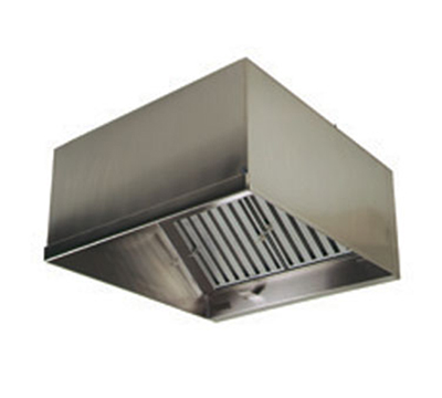 "Eagle Group HEIA96-72 72x51"" Compensating Stainless Exhaust Hood - Discharge"
