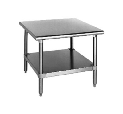 Eagle Group MS2424-X Mixer Stand - Stainless Top & Galvanized Legs, 24x24x24