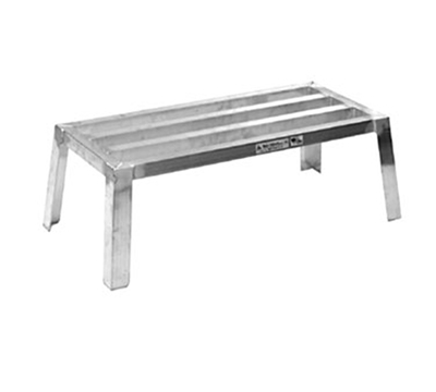 Eagle Group NDR183612-A Nesting Dunnage Rack - Aluminum Construction, 18x36x12