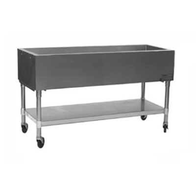 "Eagle Group SPCP-4 66"" Ice Cooled Portable Cold Pan Table - 20x6.5"" Insulated Pan"