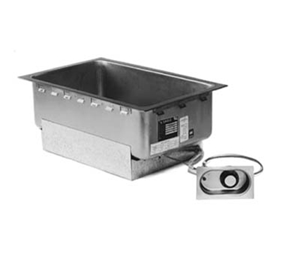 """Eagle Group TM1220FW-120-D Drop-In Food Warmer - Drain, (1) 12x20"""" Opening, Infinite Control, 120v"""