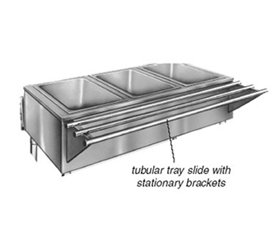 "Eagle Group TSL-DB-HT3 48x10.5"" Tray Slide - Drop Brackets"
