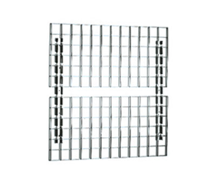 "Eagle Group WM2472 24x72"" Wall Mat - Zinc-Plated Grid, 3x3"" Opening"