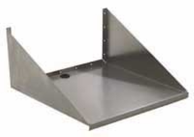 "Eagle Group MWS1824-X 18x24"" Wall Mount Stainless Microwave Shelf"