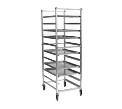 "Eagle Group OUR-1820-3-1X Full Height Mobile Utility Rack For (20) 18x26"" Trays, Bolted Aluminum Frame"