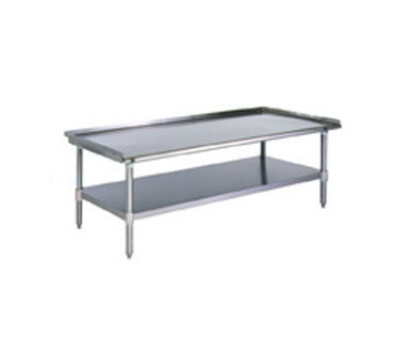 "Eagle Group T2448GS-X 24x48"" Griddle Stand - Open Base & Undershelf"