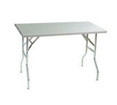 Eagle Group T3048F Folding Table - Stainless Top &  Folding Legs, 48x30