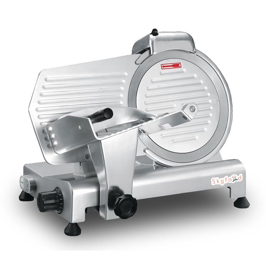 Fleetwood 220E Economy Slicer, 9in diam, Maximum Thickness 1/2 in, 1/5 HP, 115 V