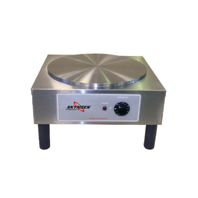Fleetwood CCMS 110V 14-in  Round Crepe Cooking Machine, Stainless, 110v