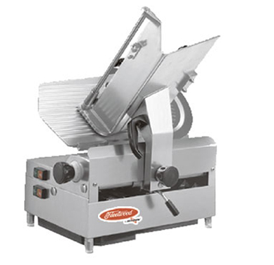 Fleetwood 1212E 12-in Single Speed Automatic Slicer w/ Full Stroke, Stainless Blade