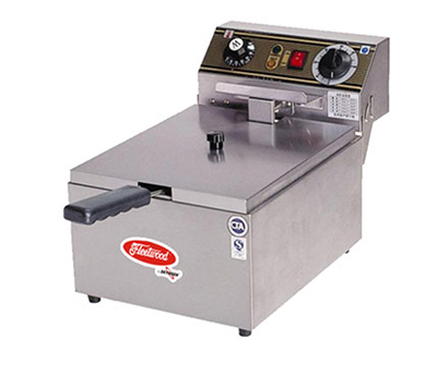 Fleetwood EF101-2 10-lb Countertop Single Fryer w/ Thermostatic Controls, Timer, 220 V