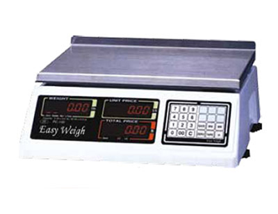 Fleetwood PC-100-NL 60-lb Dual Range Electronic Price Computing Scale w/ 6-Digit LCD