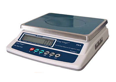 Fleetwood PX-30 30-lb Portion Control Scale w/ LCD Display, Stainless Platform