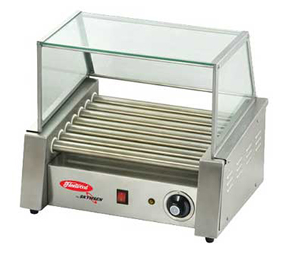 Fleetwood RG-5M 12 Hot Dog Roller Grill - Flat Top, 110v