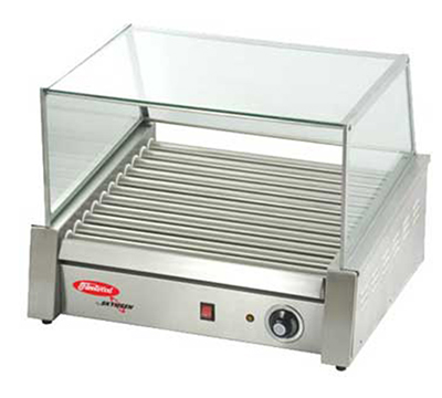 Fleetwood RG-9M 24 Hot Dog Roller Grill - Flat Top, 1