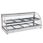 Fleetwood FWD2-43 43-in Double Shelf Food Warmer Display Case