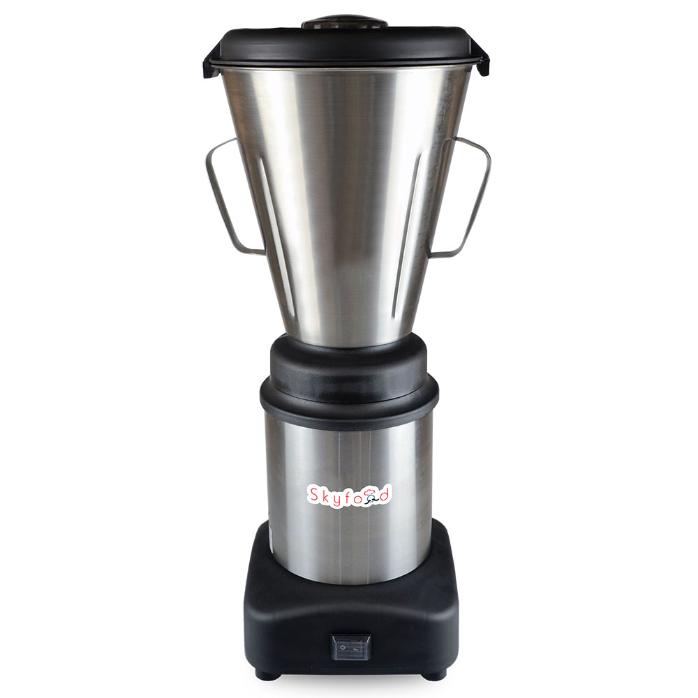 Fleetwood LAR-4MBS Table Top Blender w/ 1-gal Capacity, Push Button, Stainless Container