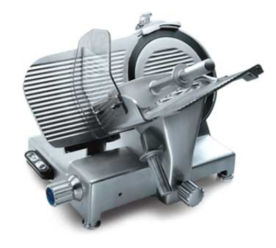 Fleetwood PALLADIO330USTOP 13-in Meat & Cheese Slicer w/ Inner Blade Cover, 1/2 HP, 120 V