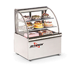 Fleetwood RBC39 39-in Full Service Refrigerated Deli Case w/ Curved Glass - (3) Levels, 120v